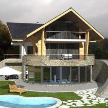 Dom w górach - Rzyki