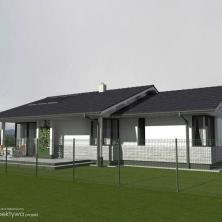 Mały dom parterowy