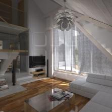 Salon w domu prywatnym