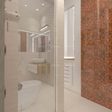 Łazienka w domu prywatnym