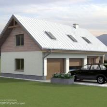 Garaż z mieszkaniem